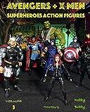 AVENGERS + X MEN: SUPERHEROES (ACTION FIGURES)