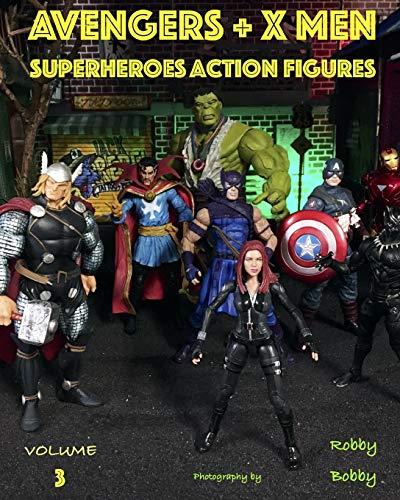AVENGERS + X MEN: SUPERHEROES: 3 (ACTION FIGURES)