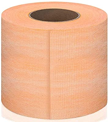"Waterproof Membrane Band 5""X 33' Waterproofing Strip Waterproofing Polyethylene Fabric Waterproof Membrane Fabric Band for Tiles, Shower Walls, Bathroom Floors, Sauna, and Steam Room"
