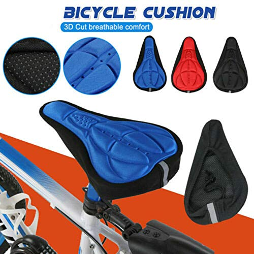 Protector El/ástico de Lluvia Cubierta Impermeable para Sill/ín de Bici INTVN 4PCS Fundas para Asiento de Bicicleta Negro
