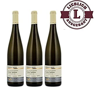 Weiwein-Nahe-Kanzler-Weingut-Roland-Mees-Nahe-Kreuznacher-Rosenberg-Sptlese-lieblich-3-x-075l