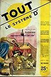 SYSTEME D N? 57 du 01-09-1950 LE COURRIER DU DEBROUILLARD - SOMMAIRE - APPAREILS...