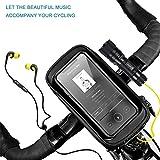 Zoom IMG-1 uihol borsa manubrio bici cellulare