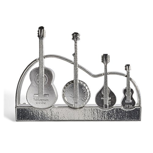 Roosfoos Pewter Americana Measuring Spoons with Stand