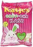 Katjes Grün-Ohr Hase – Leckere Schaumzucker und Fruchtgummi Süßigkeiten in Häschen-Form – Lustige Nascherei für die ganze Familie (16 x 200 g)