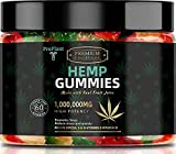 ✅ DELICIOUS ALTERNATIVE - made with Real Fruit Juice and an Amazing Taste! Get rid of old tasteless pills and take an edible gummy infused with high quality hemp oil, anti anxiety omega 3 sleep supplement. ✅ ENJOY BENEFITS - Improve your sleep, reduc...