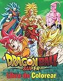 Dragon Ball Super Libro de Colorear: 50 páginas para colorear de alta calidad para niños, adolescentes y adultos   Dragon Ball Super, Dragon Ball GT, ... Ball Coloring Book, otaku para colorear.