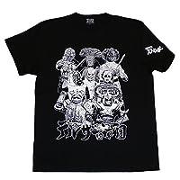 (ノルソルマニア) Norusorumania仮面ライダーストロンガ―「デルザー軍団」Tシャツ(ブラック)Mブラック