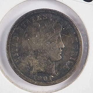 1901 o dime