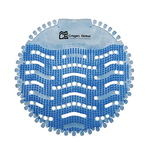 Urinal Screens Deodorizer (10 Pack) - Urinal Deodorizer, Anti-Splash & Odor Freshener, Scent Lasts 30 Days, Ideal for Restrooms at Home, Offices, Schools, and Malls (Blue)