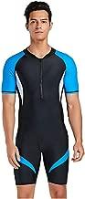 CapsA Wetsuit for Men Shorty Wet Suit Premium Neoprene One Piece Wet Suits Fishing Diving Surfing Snorkeling