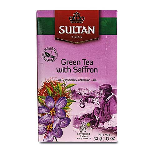 ☕ ¿CÓMO GUSTA? Probar nuestro té Sultan Taliouine es como experimentar la herencia clásica de Marruecos con un toque único. Los sabores brillantes y refrescantes de nuestro té verde se equilibran con la riqueza distintiva de las notas de azafrán agre...
