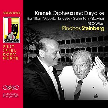 Krenek: Orpheus und Eurydike, Op. 21 (Live)