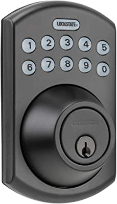 LockState RemotLock Residential WiFi Deadbolt Smart Lock Rubbed Bronze
