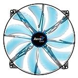 Aerocool Silent Master 200 - Blue LED (200x200x20mm)