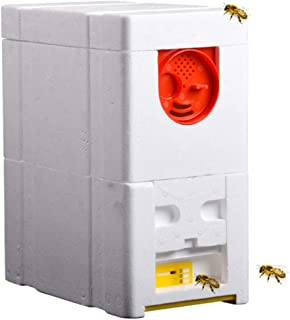 Foam Beehive Bee Hive Batter King Pollination Breeding Box Beekeeping Tool for Garden Pollination Double Layer