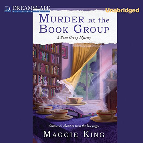 Murder at the Book Group cover art