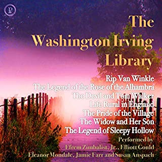 The Washington Irving Library cover art