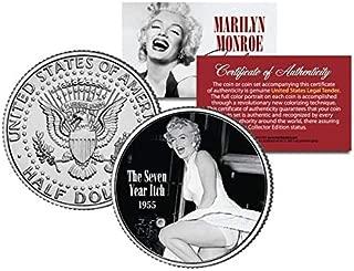 マリリンモンロー ハーフダラー 50セント コイン OFFICIALLY LICENSED THE SEVEN YEAR ITCH