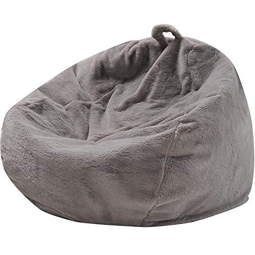 Sofá Bolsa de Juego Silla Lazy Sofa Bean Use Lounge o Juego de Silla Hogar o jardín para Interiores y Exteriores para la Lectura de Juego de la TV (Color : Black)
