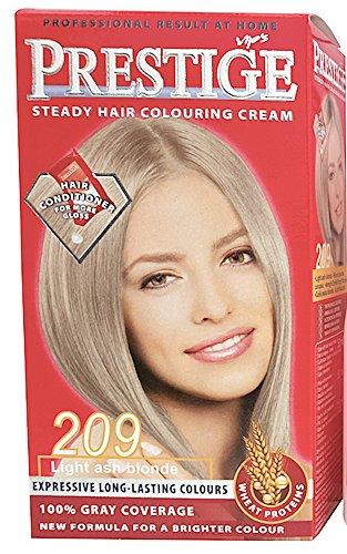 Vips Prestige Permanente Haarverf met Argan, Macadamia en Chia Oil 209 Licht asblond