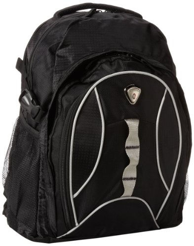 CALPAK Highway99 Black 18-inch Deluxe Backpack With Laptop Compartment