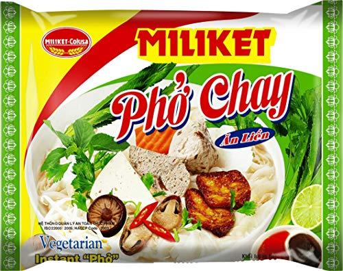 Miliket Fideos Instantáneos De Arroz Sabor Vegetal (Pho, Estilo Vietnamita) 60 g