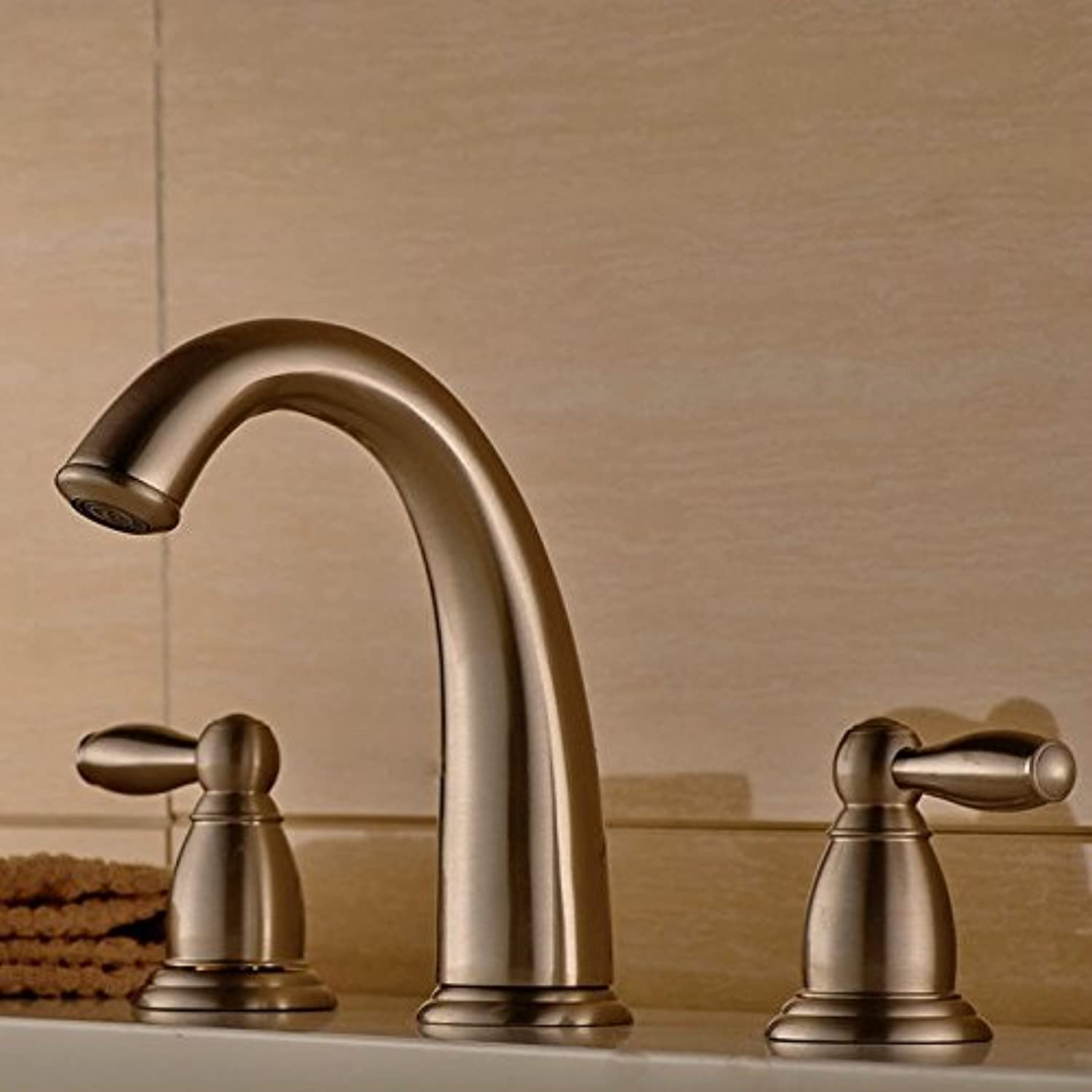 NewBorn Faucet Kitchen Or Bathroom Sink Mixer Tap The Copper gold-Plated Single Handle Single Holepinkgold