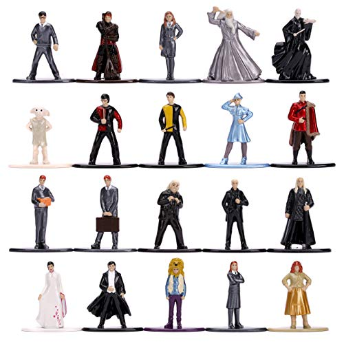 Jada Toys Nano METALFIGS Harry Potter 20-Pack Wave 4, 1.65' Die-Cast Collectible Figures 30823