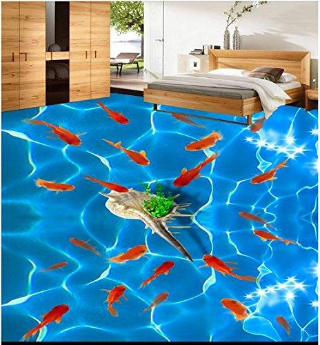 Mznm Custom 3D Photo Wallpaper 3D vloerbedekking, behang, meer dan 3D-stok, slaapkamer, elk jaar 400 x 280 cm.