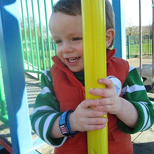 iDME Kids Safety iD Wristband Child Pink