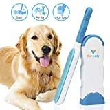 SuReady Pet Hair Remover Brush, Pet Hair Remover with Self-Cleaning Base,...