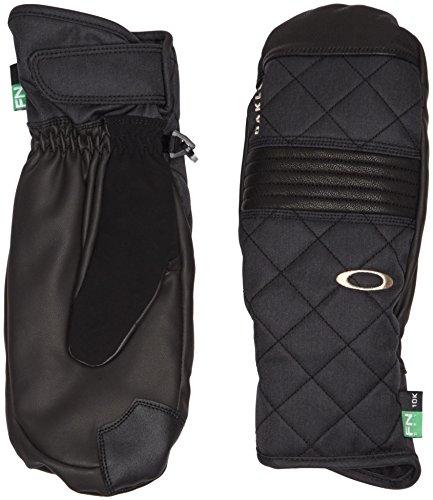 Oakley Damen Silver FIR MITT Handschuh, Black, L