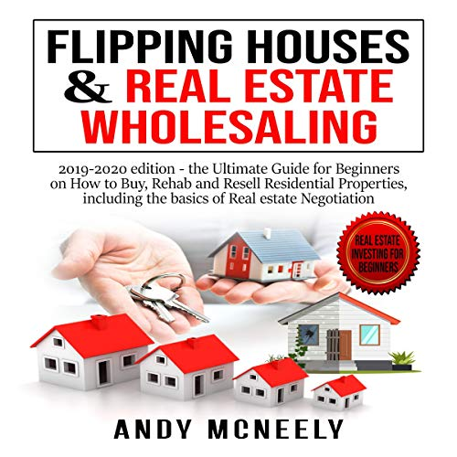 Flipping Houses & Real Estate Wholesaling cover art