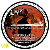 Illusion System's 2020 Moon Guide for Deer Hunting - Dates, Times, Locations - 20+ Years Of Testing - Portable (6″ diameter)