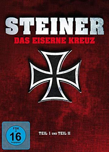 Steiner - Das Eiserne Kreuz. Teil I und Teil II - Special Edition Mediabook [2 BDs] [+2 DVDs] [Blu-ray]
