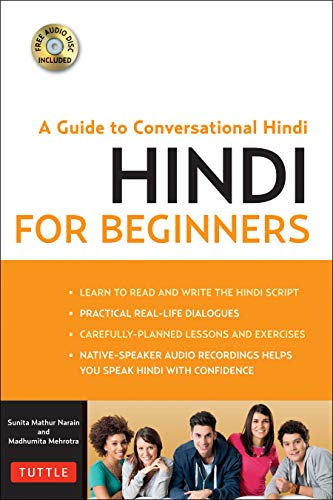 Hindi for Beginners: A Guide to Conversational Hindi (Audio Disc Included)