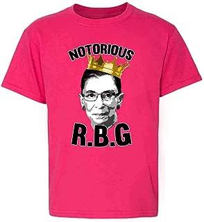 Pop Threads Notorious R.B.G. RBG Supreme Court Political Youth Kids Girl Boy T-Shirt