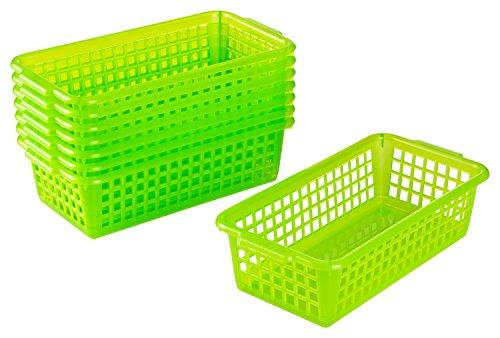 Kigima Haushaltskorb Allzweckkorb 8er Set 0,7l 20x10x5,5 cm Grün