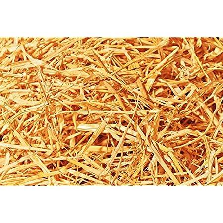 Double F Farms Premium Organic 100% Natural Straw for Animal Bedding, Garden Mulch, Compost & Fertilizer, and Grass Cover