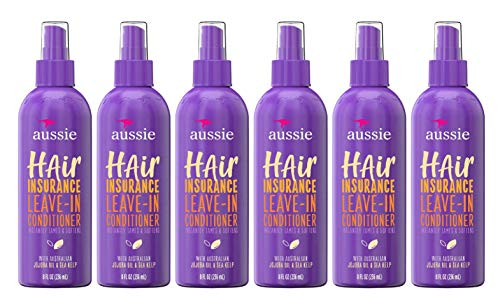 Aussie Conditioner Hair Insurance Leave-In Spray 8 Ounce (236ml) (6 Pack)
