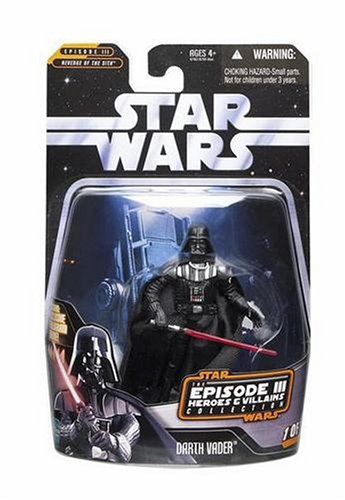 Darth Vader Episode III Heroes & Villains 1 of 12 - Star Wars The Saga Collection 2006