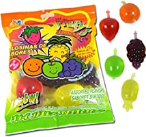 DinDon Fruity Snack TikTok Ju-C Jelly Fruit Candy Bag 11.3 oz 5 Flavors Strawberry, Sour Apple, Pineapple, Grape, and...