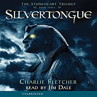 Silvertongue audiobook cover art