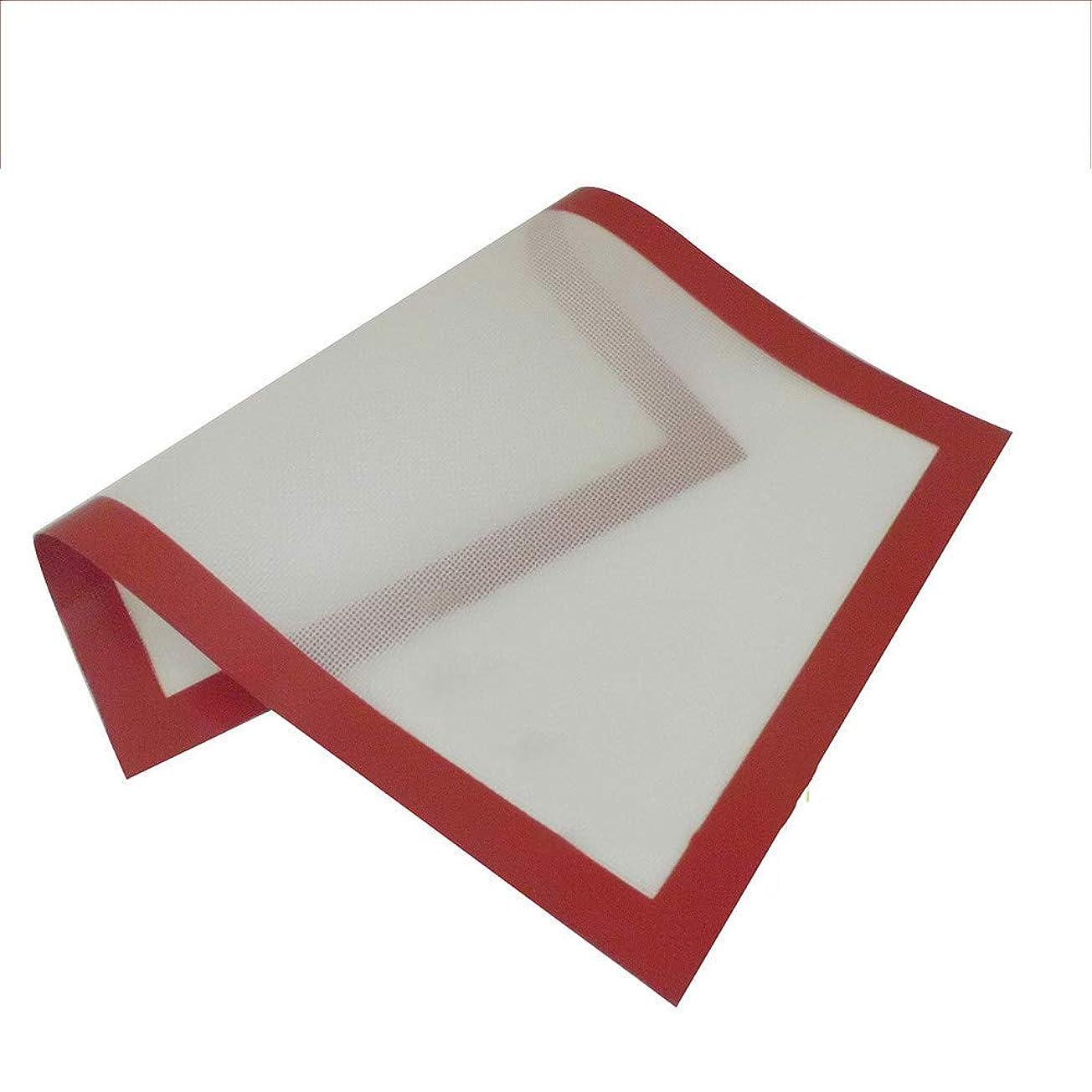対応する適応実際シリコンマット 食品グレードシリコンノンスティックオーブンベーキングパッド太いハイ?耐熱グラスファイバーパッド