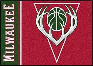Fanmats 17918 NBA Milwaukee Bucks Uniform Inspired Starter Rug