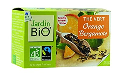 Jardin Bio Thé Vert Orange Bergamote 30 g parent