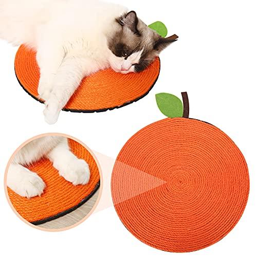 Dihope Kratzbrett Kratzpappe für Katzen Katzenspielzeug Beschaftigung Sisal Scratching Pad aufgehängt