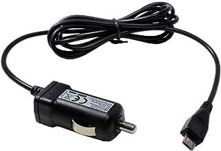 Billaddare, Micro USB-laddningsport, 1 000 mA för Trekstor eBook Reader Pyrus 2 LED, för alla mikro-USB-enheter