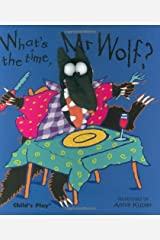 What's the Time, Mr. Wolf? (Finger Puppet Books) Kindle Edition